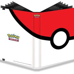 Pokéball - PRO Binder Full View Card Album $11.95