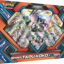 Shiny Tapu Koko GX Box $14.95!