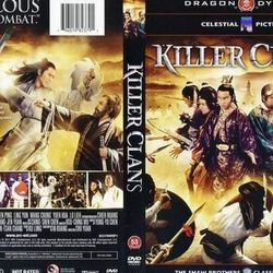Dragon Dynasty DVD COVER. *Note how they omit the 'S' on clans.