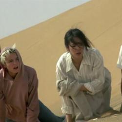 Left to right - Shoko Ikeda , Eva Cobo , Do Do Cheng and Jackie Chan