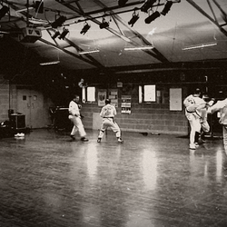 Tradional Old Style Taekwondo in action