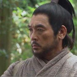 Hwang Jung Lee as Miyamoto Musashi in 2009. (c)MBC