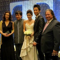 Sammy Hungs wedding ( Above) ,Sammo is Joined by his brother Jackie Chan. Timmy looks like he has lost some weight here,not that he was big ,but just looked a bit fuller in his previous films i had seen him in. 2012