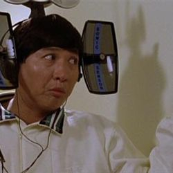 Sammo in Dragons Forever ,which he directed and starred his brothers Jackie Chan and Yuen Biao