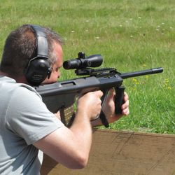 Steyr AUG straight pull .223 rifle