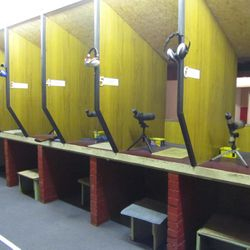 Standing bays and prone shooting positions