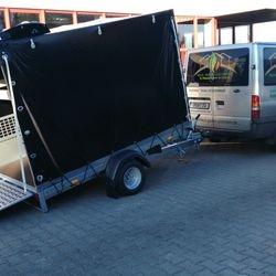 Transporte mit Anhänger Wohnungsauflösungen, Haushaltsauflösung