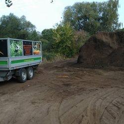 Lieferung Kompostboden