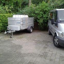 Kleintransporte mit Anhänger