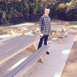 Matthew McMeekin's Patio Eagle Scout Project