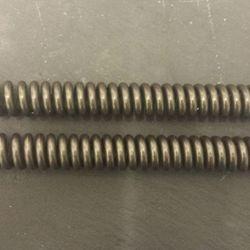 Progressive fork springs