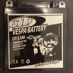 SIP battery for Lambretta and Vespa