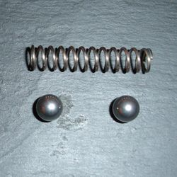 Top quality selector spring and balls