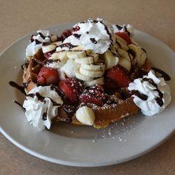 Waffle A La Mode