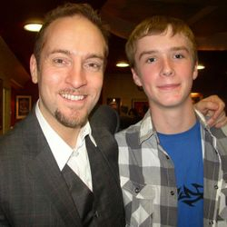 Leon Thomson With Derren Brown