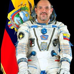LIO welcome host Ecuador's astronaut Cmdr. Nader works for education & peace...