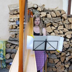 Harp en zang cursus Rachel Ann Morgan