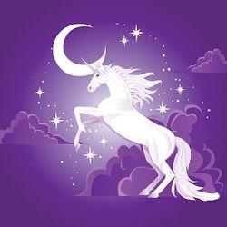 Unicorn Mural.