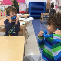 Site: 219 25th Street  In music class students are exploring their four voices: singing, whispering, inside voice, and outside voice
