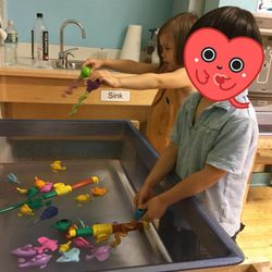 Ms. Yu's dual language class loves Center Time .  There is so much to explore and learn in our centers. From blocks, dancing, water tables and more . The possibilities of creative learning are endless! The smiles say it all!  Location : 173-177 25th Street