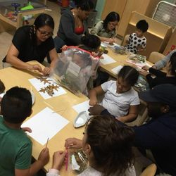 On Friday, October 5th we had our first Parents as Learning Partners. We showed our moms and dads all the cool things we've been learning in PreK. We all read a story about our 5 senses and got to do a super cool leaf activity after!  Location : 173-177 25th Street
