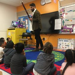 A big THANK YOU to Detroit Symphony Orchestra's Alexander Davis for visiting our Pre-K center. We had a blast learning about the bassoon, and singing and dancing with you!