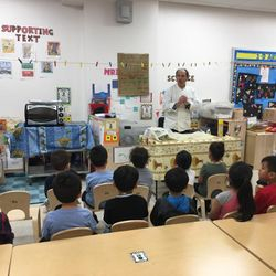 Lots of fun at the Bread Making Workshop!