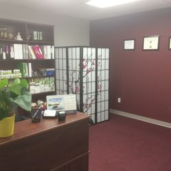 Acupuncture office inside