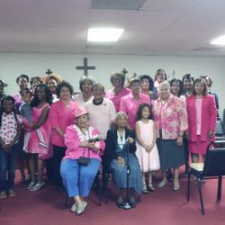 Recognizing cancer awareness month October 2014