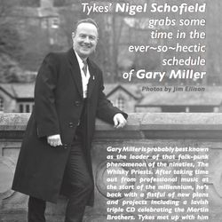 Gary Miller (with Helen Temperley) interviewed by Nigel Schofield for Tykes' News, UK, Summer 2018 - page 1