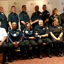 1-Unit crews from MCEMD receiving an Ohio EMS Star of Life Award 2018