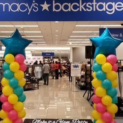 Macy's Backstage Grand Opening.