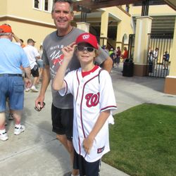 In Lakeland to see the Tigers / Nationals and Bryce Harper!