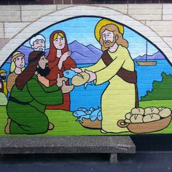 bible stories mural style - photo #27
