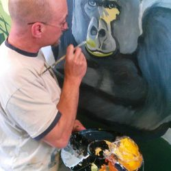 The great ape is taking shape!
