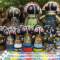Cultural arts, handmade South African Dolls.