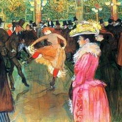 MULON ROUGE Henri de Toulouse Lautrec