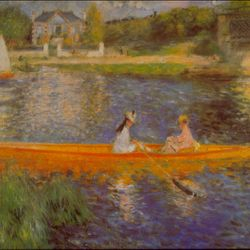 The Seine by Renoir