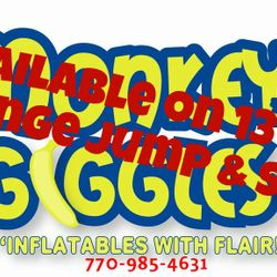 Banners available on these units. 13', 16', and the Jump & Slide (orange only).
