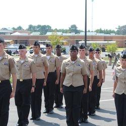The Unarmed Basic platoon