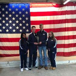 The Precision 2 team at the Upson Lee Rifle Match scoring 3rd Overall