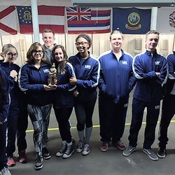 North Cobb-Harrison Precision & Sporter Teams during Upson-Lee Rifle Match Saturday, 11 November. The Precision team placed 1st overall at the competition.