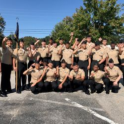 Members of the Drill Team competed Saturday, 9 Sep at Henry County High School where the placed 1st Overall in drill.