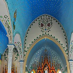 Scroll down for information on our November road trip. Painted Churches of Shulenburg.