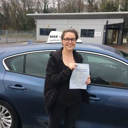 Anna Passed 1st Time.