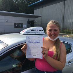 Bonnie Passed 2nd Time.