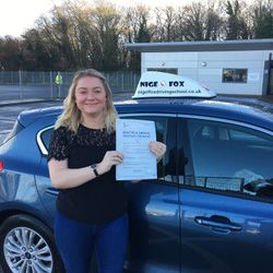 Chelsey Passed 1st Time.