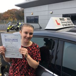 Chloe Passed 1st Time.
