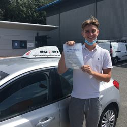 Connall Passed 1st Time with ZERO faults.