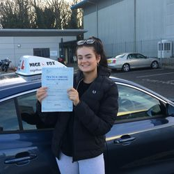 Emily Passed 2nd Time.